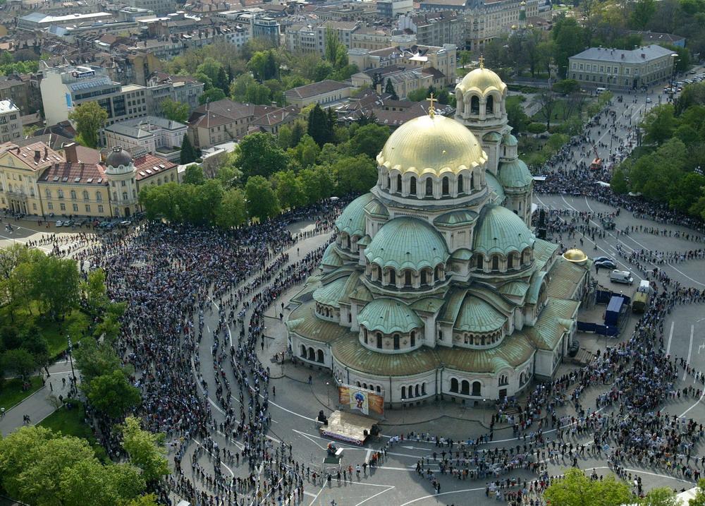 София Болгария Храм-памятник Александра Невского