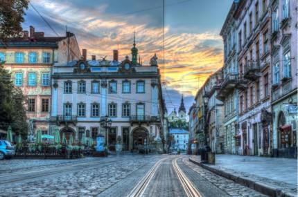 Атмосферные улочки Львова