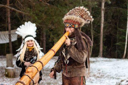 Эко-тур в индейскую деревню в туристическом комплексе «Утрина» + Полоцк